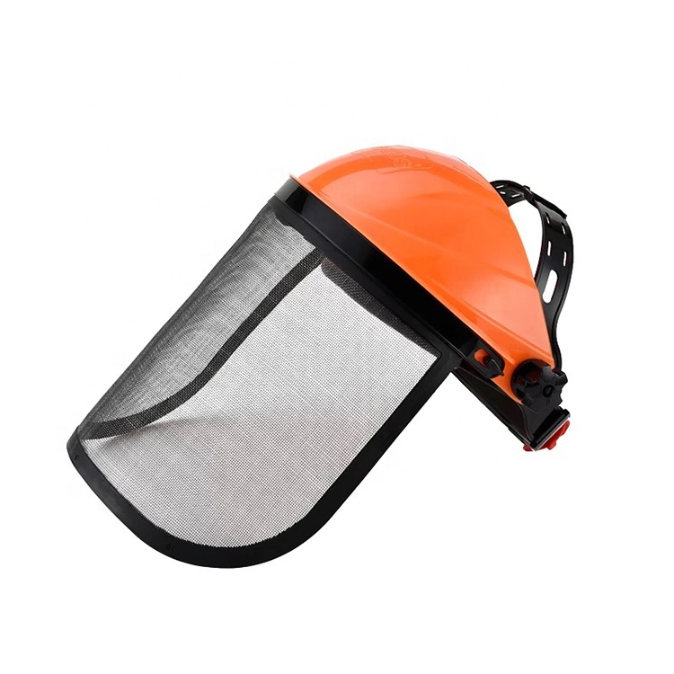 SAFETY CLEAR FACE SHIELD FACESHIELD WITH BOND SAFETY OVERALL ORGANIC GLASS VISOR FACE SHIELD FOR GRINDING SG-032