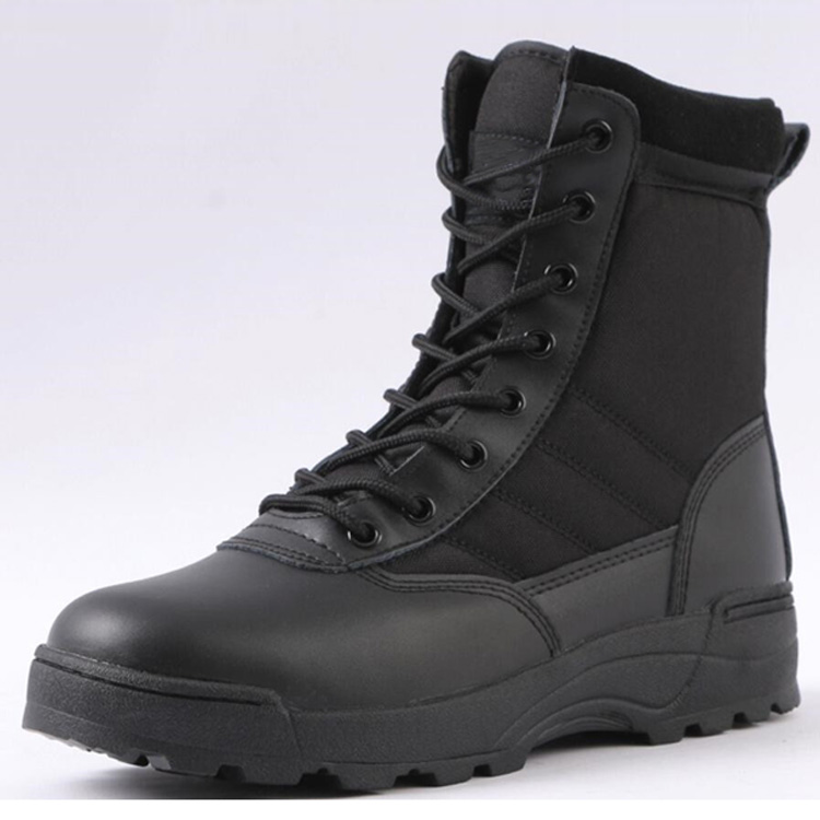 CHEAP RUBBER ARMY SAFETY COMBAT SHOES SUEDE MILITARY
