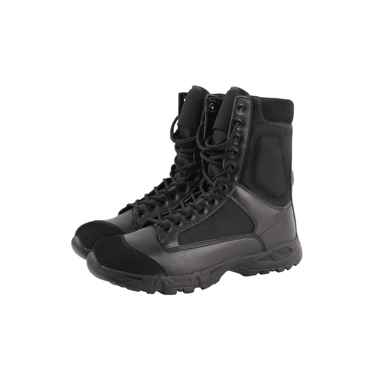 OUTDOOR MILITARY BLACK SAFETY BOOTS TACTICAL ARMY COMBAT MANUFACTURER BOOTS