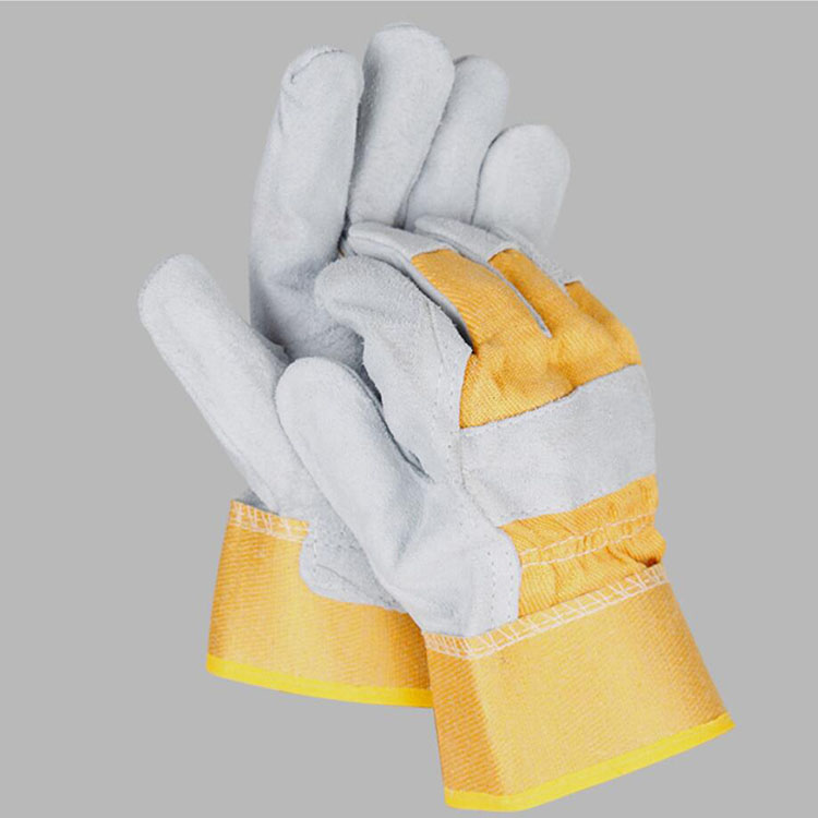 COW SPLIT LEATHER INDUSTRIAL LEATHER WORK GLOVES GLOVE