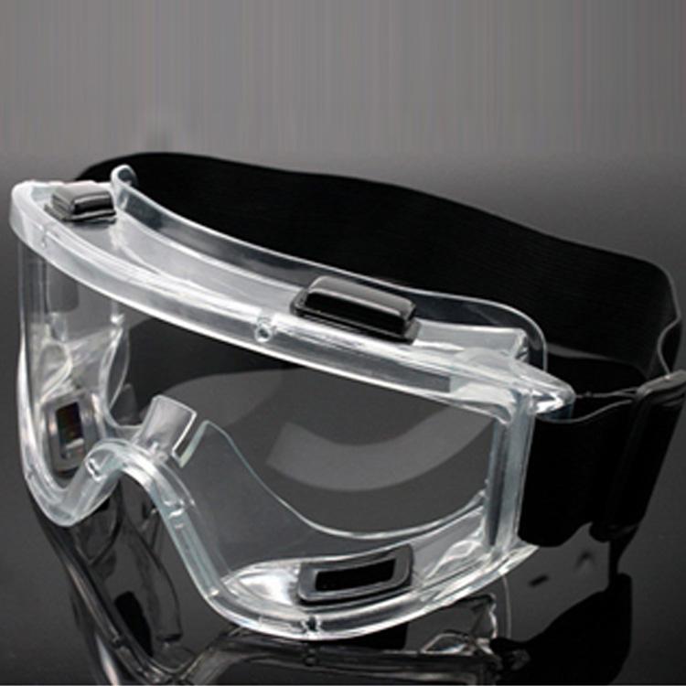 DURABLE MEDICAL SAFETY GLASSES TRANSPARENT MEN WOMEN GOGGLES