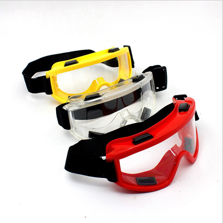 DUSTPROOF SAFETY GOGGLES OVER GLASSES EN166 EYE PROTECTION GOGGLES CLEAR
