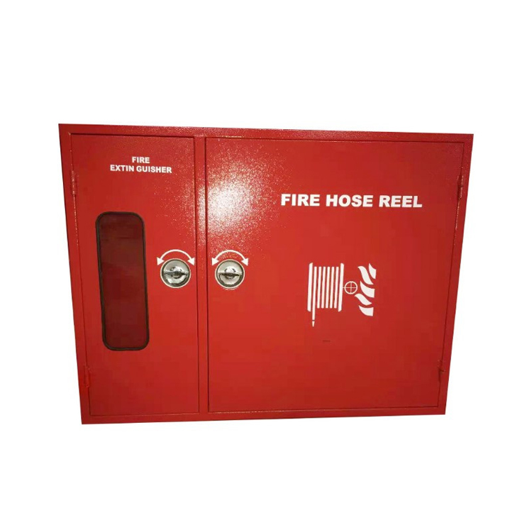 FACTORY PRICE STAINLESS STEEL FIRE HOSE REEL CABINET