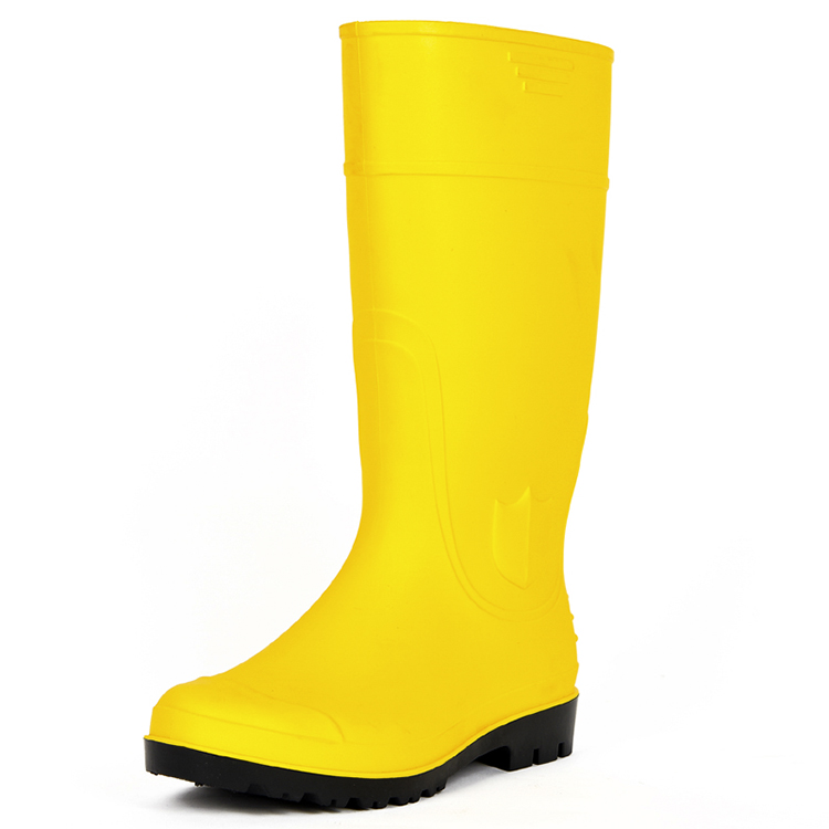 GOOD QUALITY GENUINE LEATHER HIGH ANKLE SAFETY FOOTWEAR FB-E3001