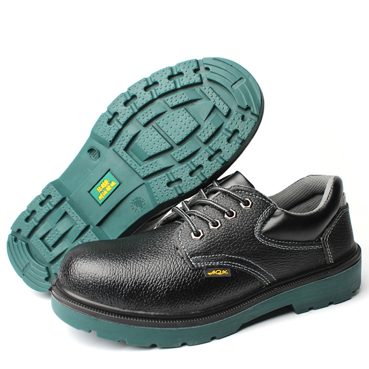GOOD QUALITY GENUINE LEATHER HIGH ANKLE SAFETY FOOTWEAR FB-E8015