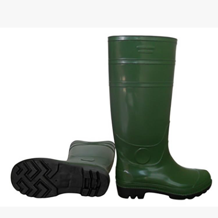 HIGH KNEE RAIN BOOTS FACTORY USED PVC WATERPROOF BOOTS FOOD FACTORY SEAFOOD FACTORY BOOTS SAFETY SHOES  FB-E0103