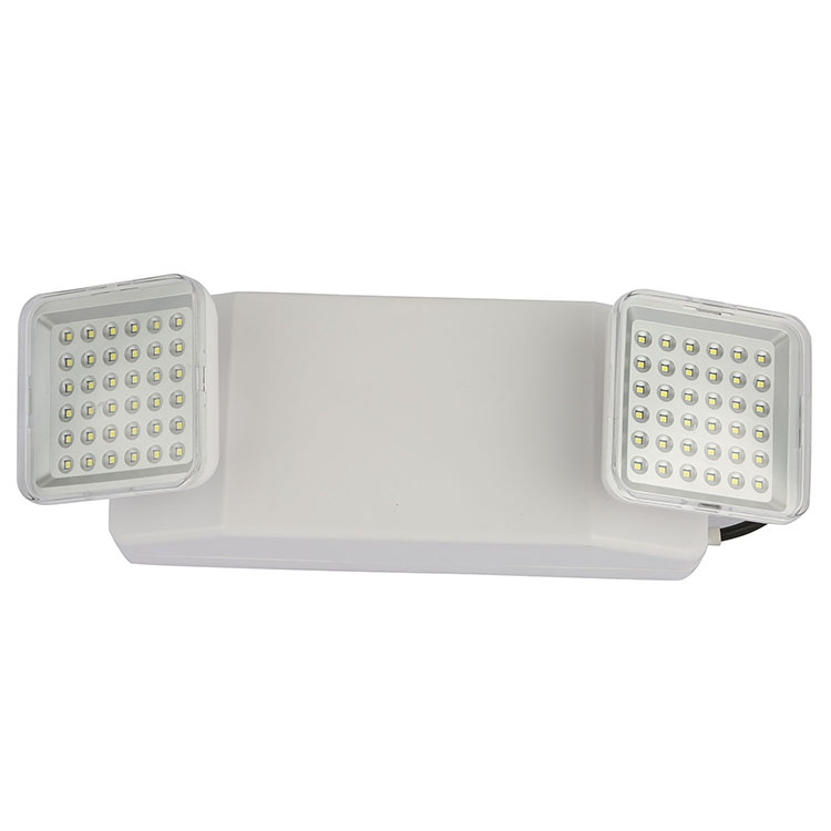 LED TWO HEAD FIRE EFFECT LIGHT AND SAFETY LED LIGHT EMERGENCY EXIT LIGHT 8054 LED