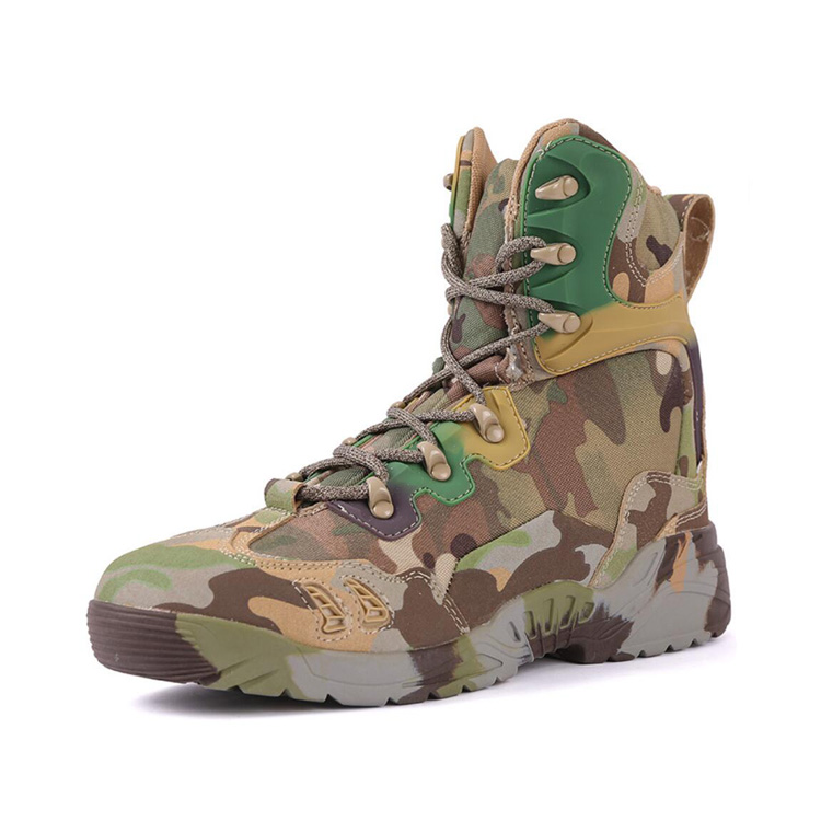 LOW COST RUBBER COMBAT SHOES SUEDE MILITARY SAFETY SHOES