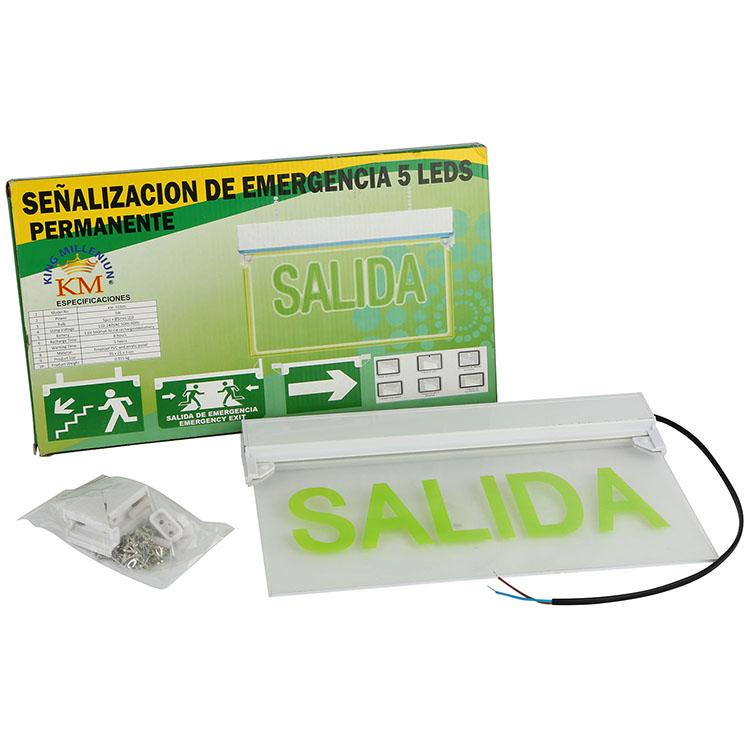 OEM LED FIRE EVACUATION INDICATOR EMERGENCY SIGN EXIT LIGHT (297)