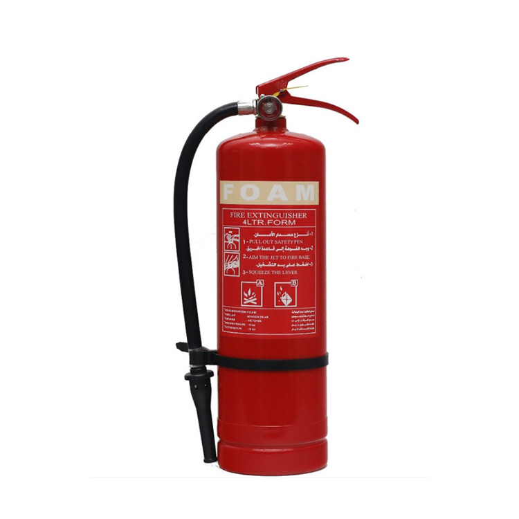 RELIABLE CHINESE SUPPLIER BRACKET 4KG FOAM PORTABLE FIRE EXTINGUISHER