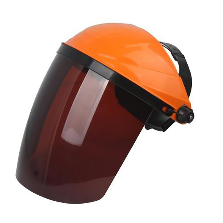 SAFETY HELMET WITH PC PVC ORGANIC DUST PROOF VISOR WELDING FACE SHIELD SG-033