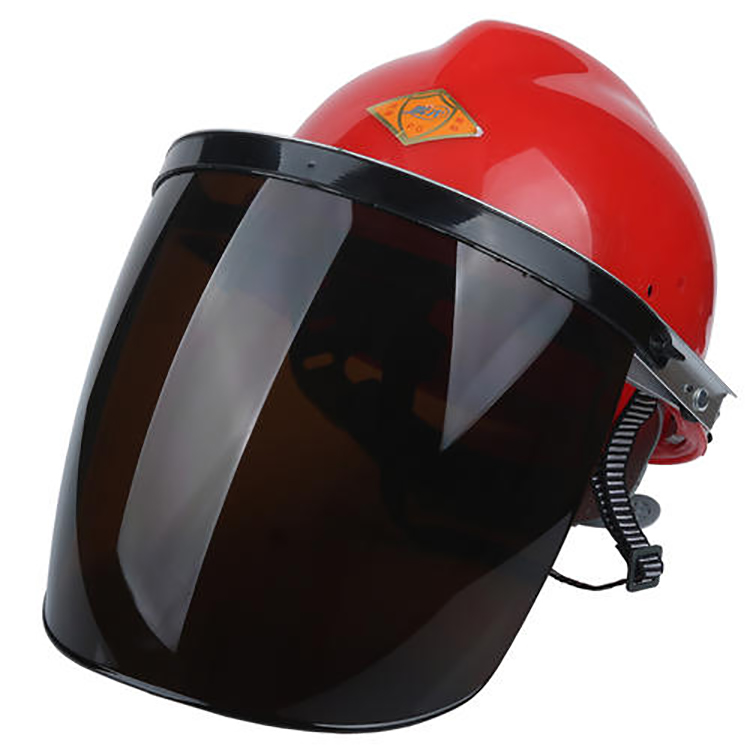 SAFETY HELMET WITH PCPVC ORGANICDUST PROOF VISOR WELDING FACE SHIELD SG-016