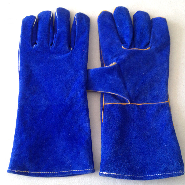 China Working Construction Hand Cow Leather  Gloves