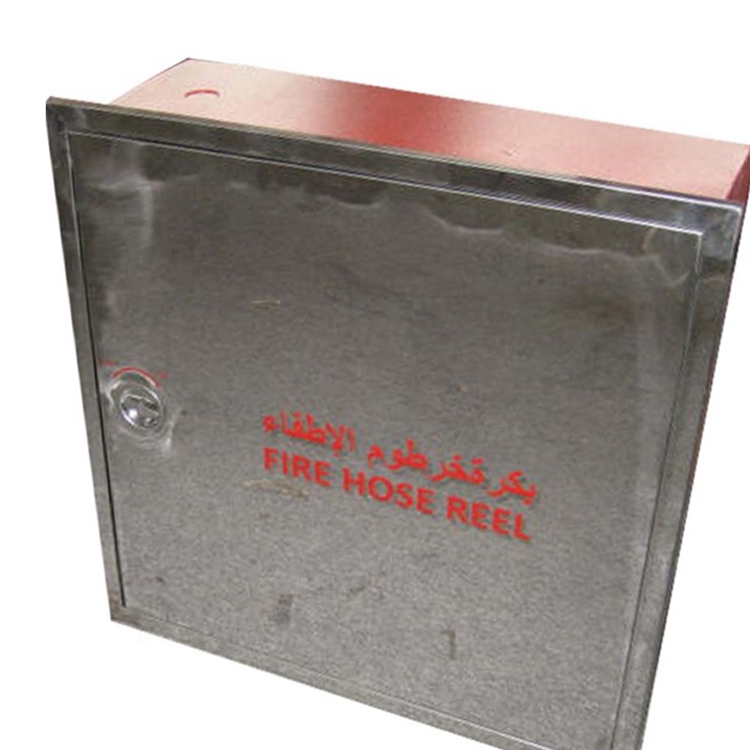 STAINLESS STEEL FIRE HOSE REEL CABINET PRICE FOR FIRE HOSE AND FIRE EXTINGUISHER