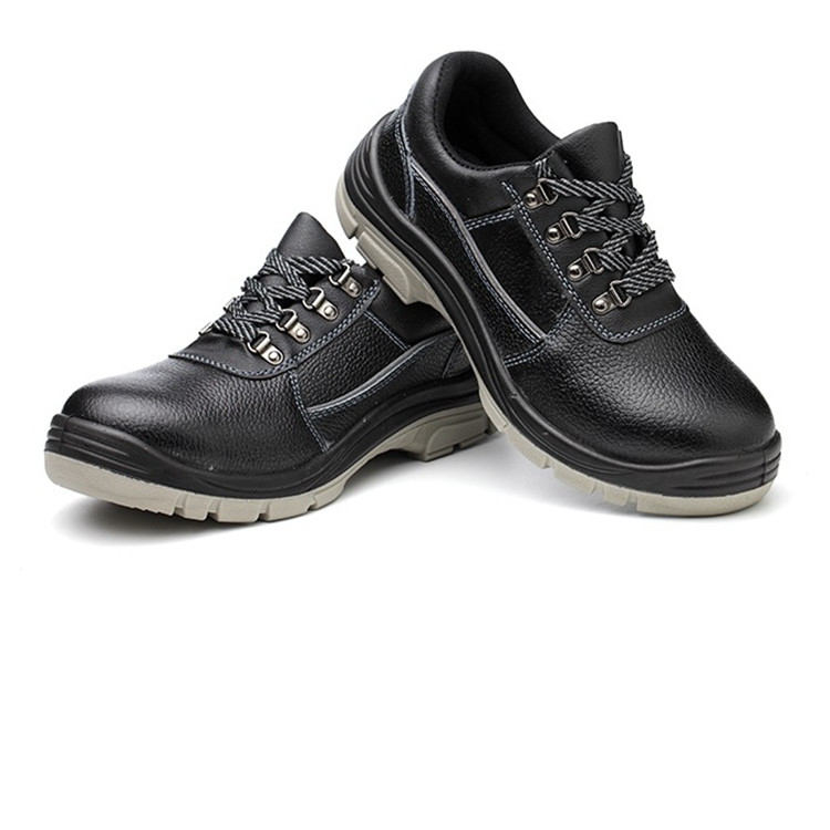 STEEL TOE GENUINE LEATHER SAFETY BOOTS AND SHOES