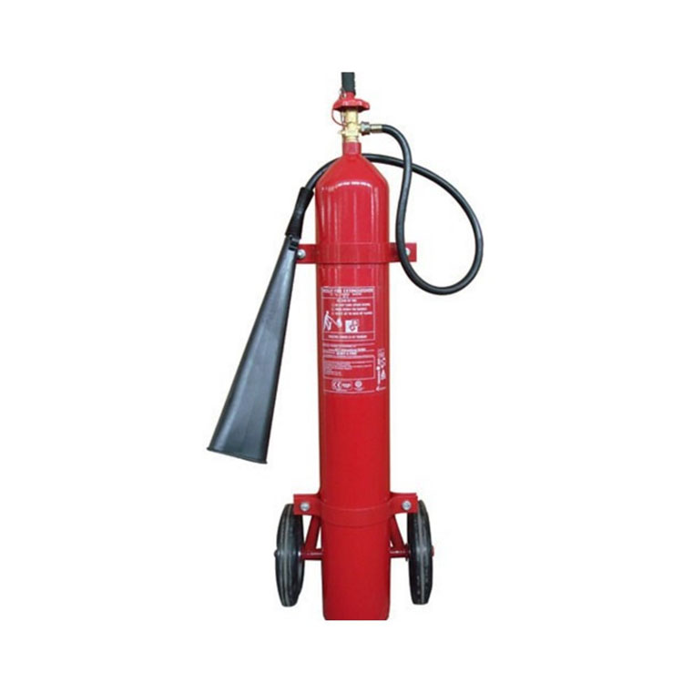 TROLLEY TYPE CHARGED WITH CARBON DIOXIDE GAS 10KG CO2 FIRE EXTINGUISHER
