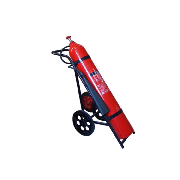 TROLLEY TYPE CHARGED WITH CARBON DIOXIDE GAS 9KG CO2 FIRE EXTINGUISHER